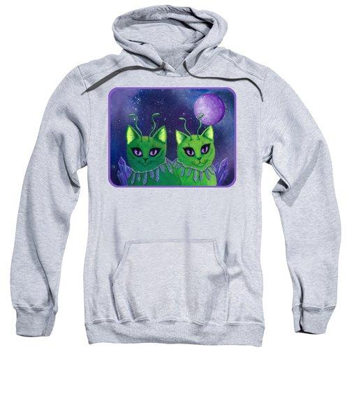 Alien Cats Sweatshirt