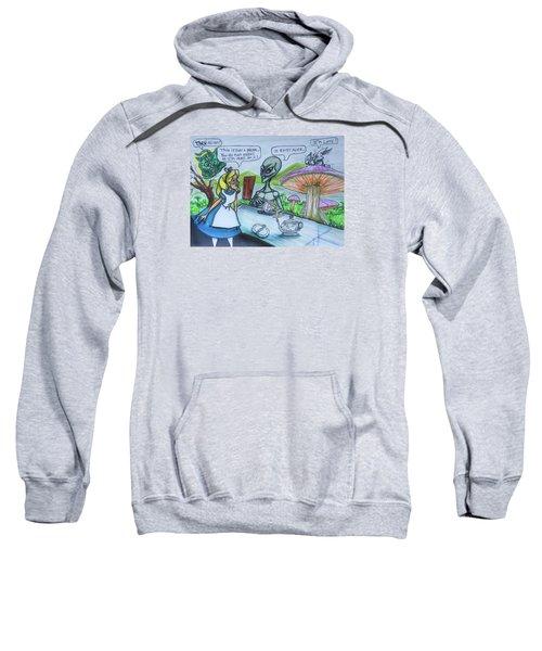 Alien In Wonderland Sweatshirt