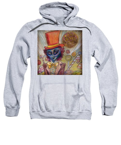 Alien Wonka And The Chocolate Factory Sweatshirt