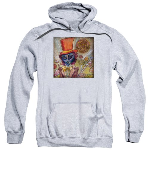 Alien Wonka And The Chocolate Factory Sweatshirt