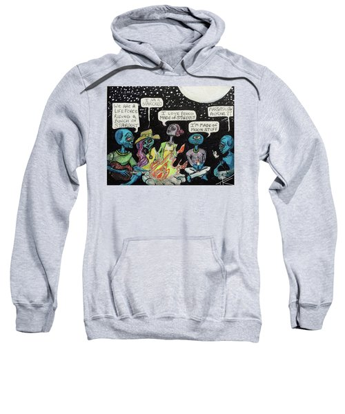 Aliens By The Campfire Sweatshirt