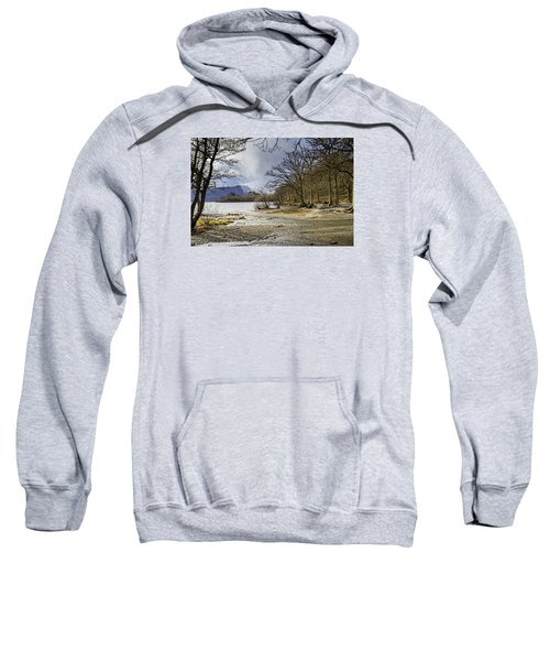 Sweatshirt featuring the photograph All Seasons At Loch Lomond by Jeremy Lavender Photography