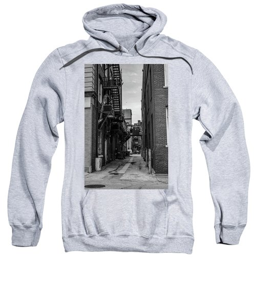 Sweatshirt featuring the photograph Alleyway II by Break The Silhouette
