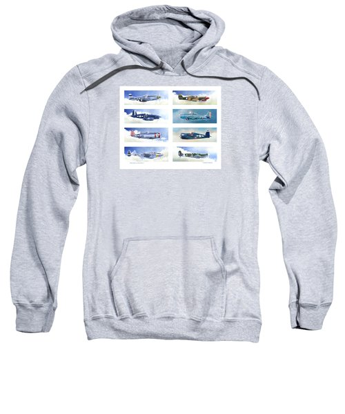 Allied Fighters Of The Second World War Sweatshirt