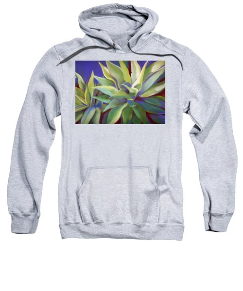 Aloe Plants In Big Sur Sweatshirt