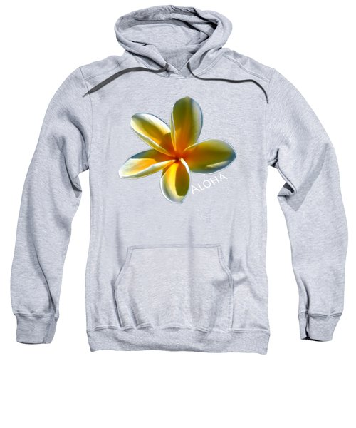 Aloha Plumeria Sweatshirt
