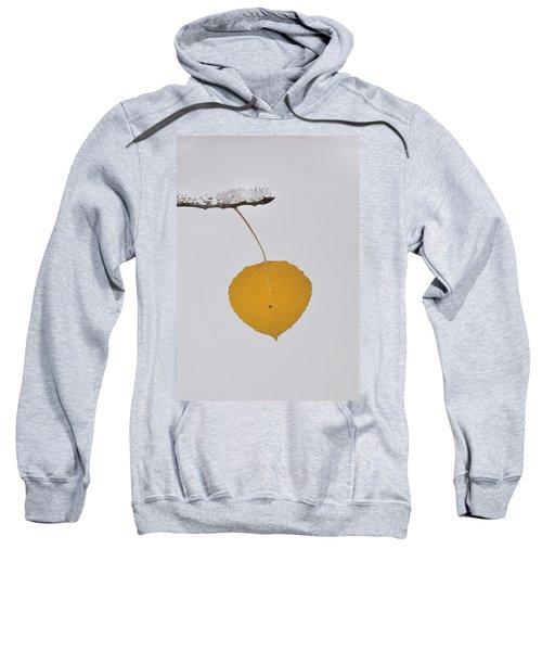 Alone In The Snow Sweatshirt
