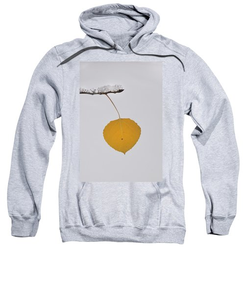 Alone In The Snow Sweatshirt