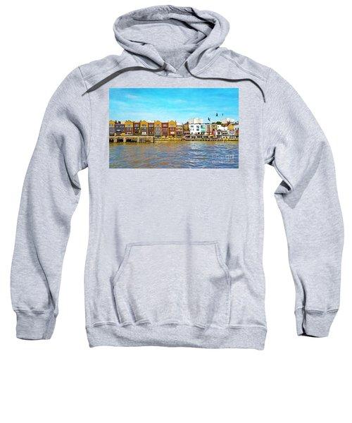 Along The River Thames Sweatshirt