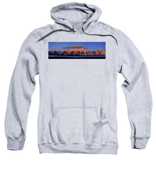 Alpenglow Tetons 2 Sweatshirt