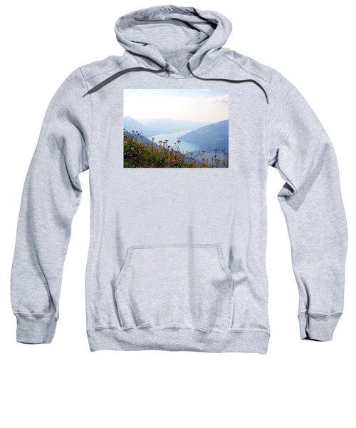 Alpine Flora On Top Of Schynige Platte Sweatshirt