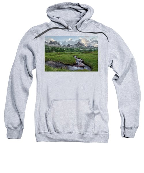 Alps In The Afternoon Sweatshirt