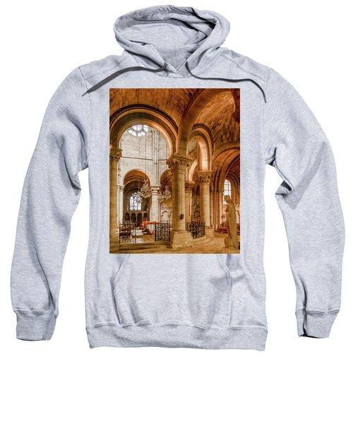 Poissy, France - Altar, Notre-dame De Poissy Sweatshirt