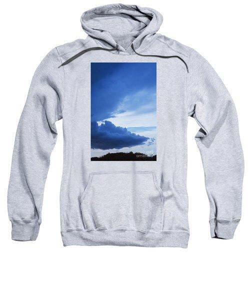 Amazing Blue Sky Vertical Sweatshirt