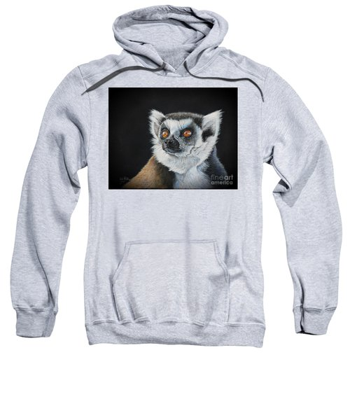 Amber Eyes......lemur Sweatshirt