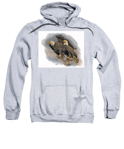 American Bald Eagle Pair Sweatshirt