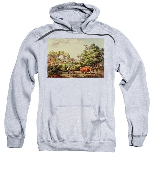 American Farm Scenes Sweatshirt