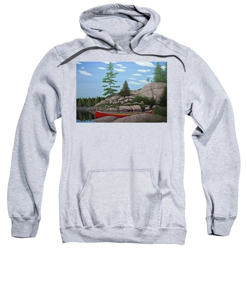 Among The Rocks II Sweatshirt