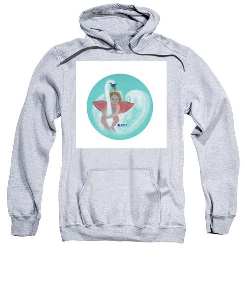 Amorino With Swan Sweatshirt