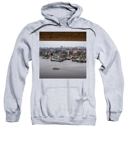 Amsterdam Skyline Sweatshirt by Aleck Cartwright