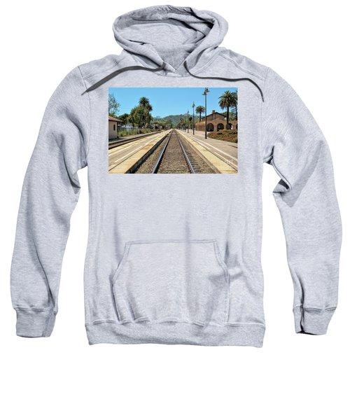 Amtrak Station, Santa Barbara, California Sweatshirt