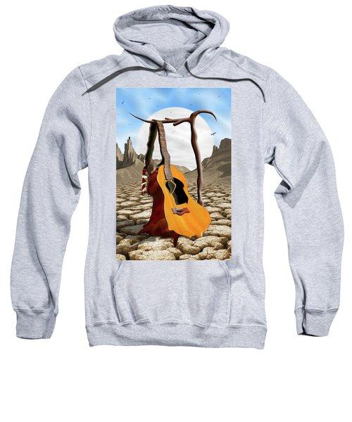 An Acoustic Nightmare Sweatshirt by Mike McGlothlen