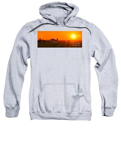 An Amish Sunset Sweatshirt