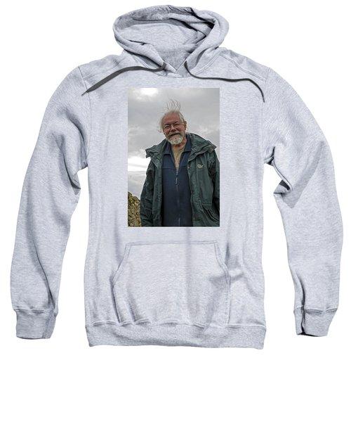 Sweatshirt featuring the photograph An Englishman In Castlerigg, Uk by Dubi Roman