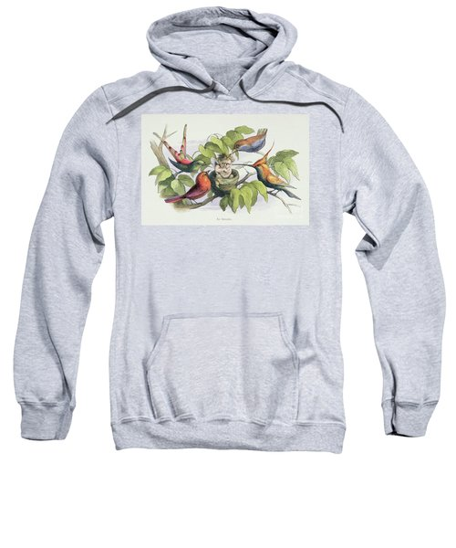 An Intruder Sweatshirt