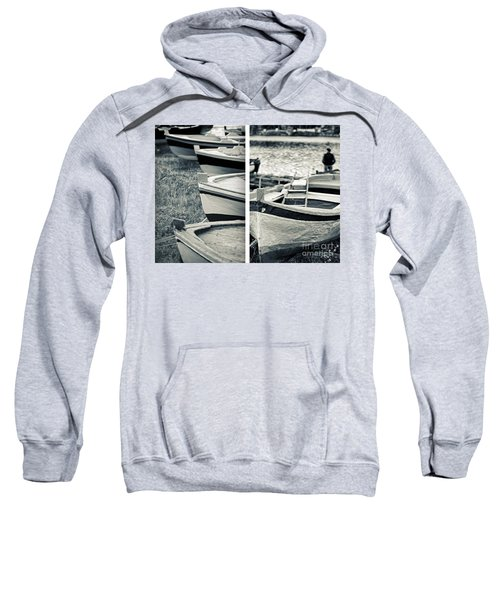 An Old Man's Boats Sweatshirt by Silvia Ganora