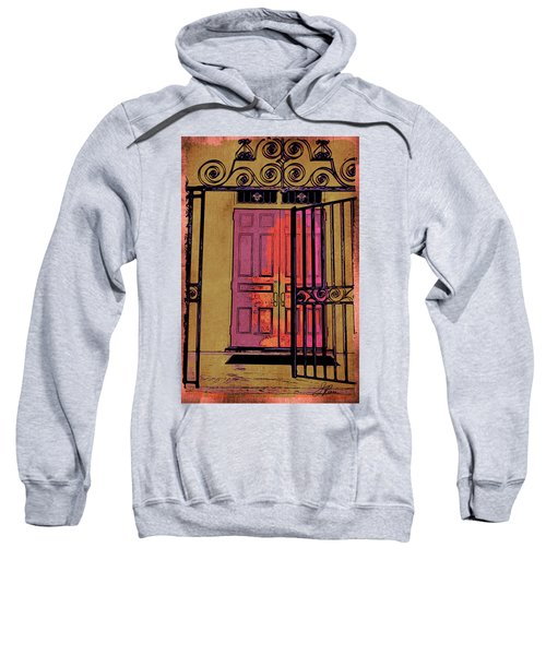 An Open Gate Sweatshirt