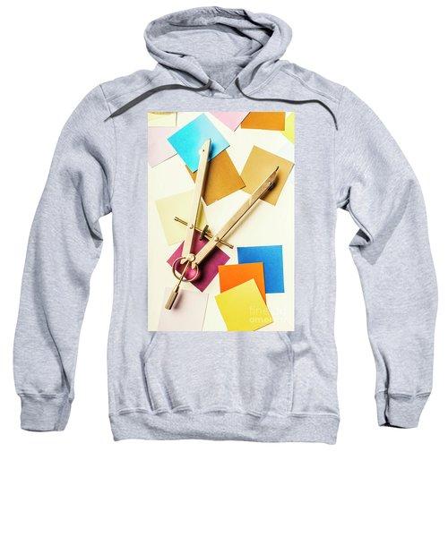 An Upside Down Build Sweatshirt
