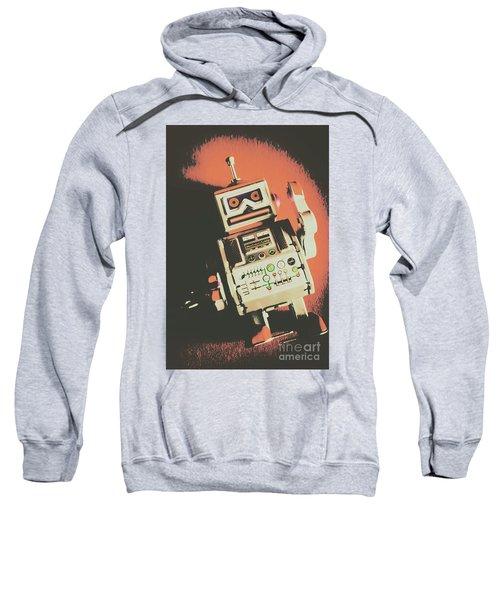 Android Short Circuit  Sweatshirt
