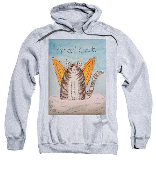 Angel Cat Sweatshirt