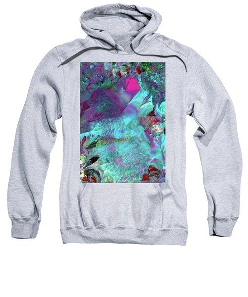 Angel Daphne Flowers #2 Sweatshirt