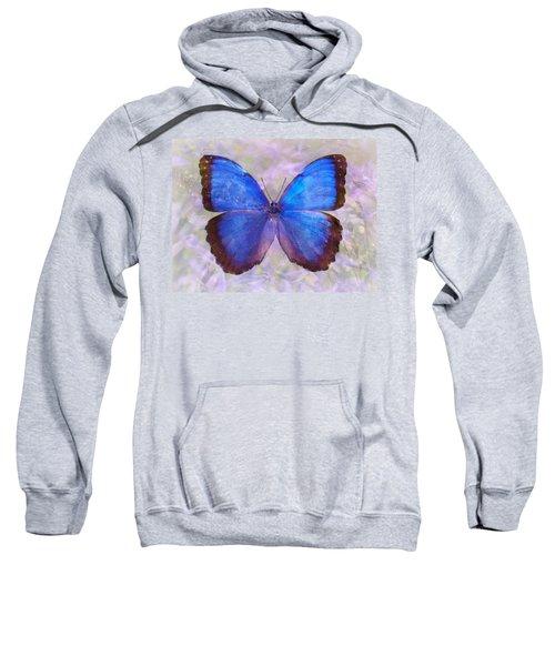 Angel In Blue Sweatshirt