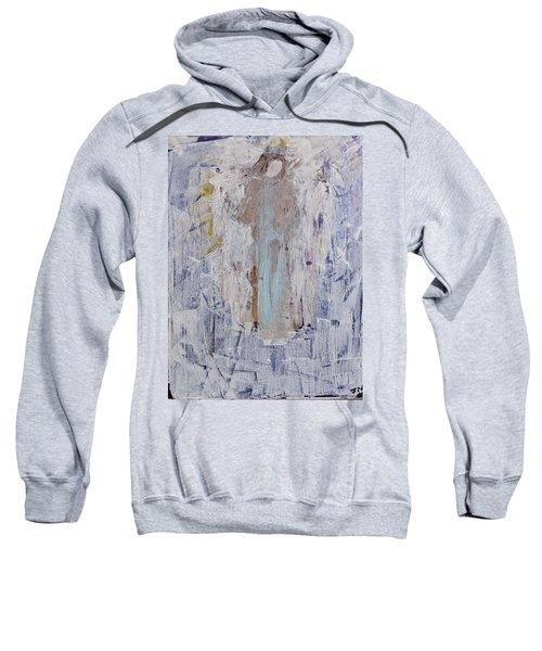 Angel With Her Horse Sweatshirt