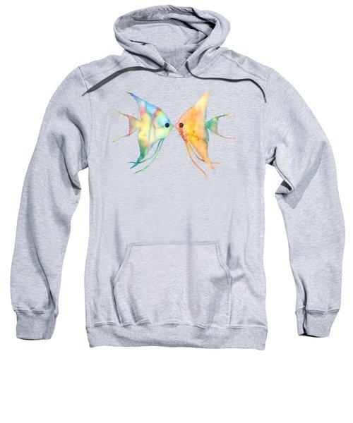 Angelfish Kissing Sweatshirt