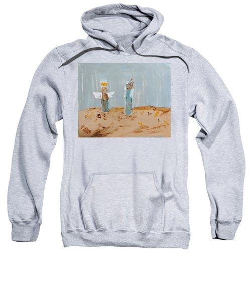 Angels Taking Care Of E Sweatshirt