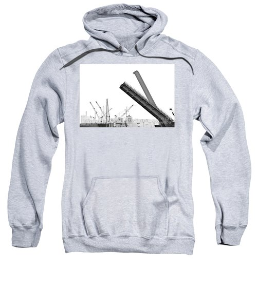 Sweatshirt featuring the photograph Angle Of Approach by Stephen Mitchell