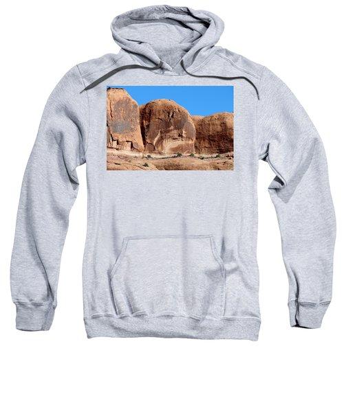 Angry Rock - 3  Sweatshirt