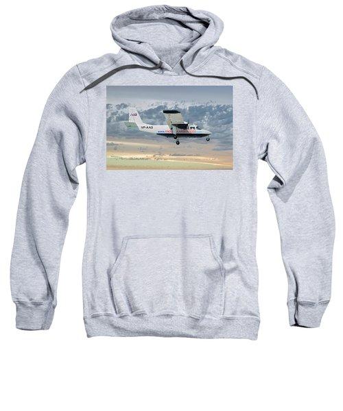 Anguilla Air Services Britten-norman Bn-2a-26 Islander 114 Sweatshirt
