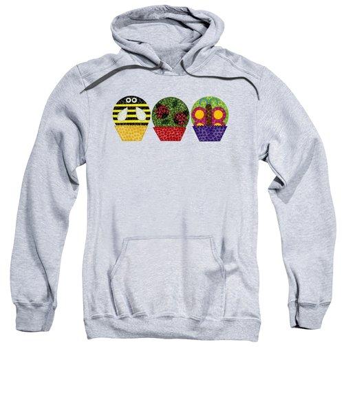 Animal Cupcakes 1 Sweatshirt