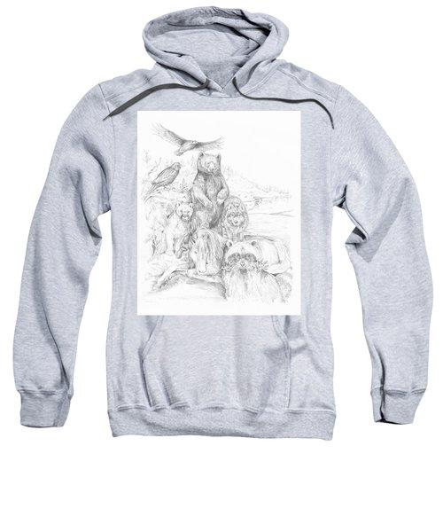 Animal Wisdom Sweatshirt