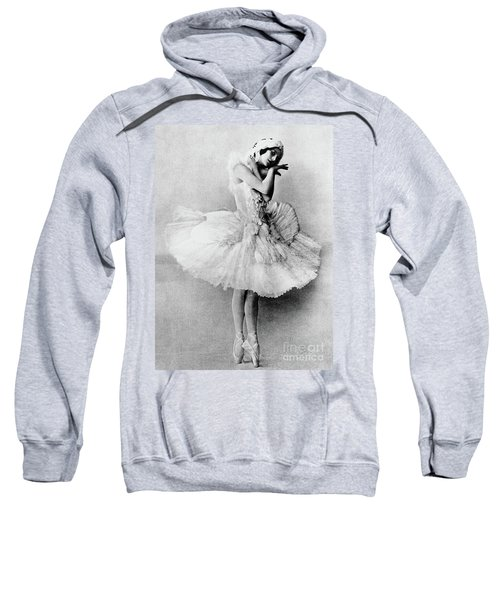 Anna Pavlova In The Role Of The Dying Swan Sweatshirt