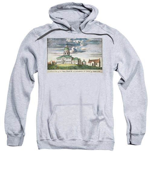 Annapolis, Maryland, 1786 Sweatshirt