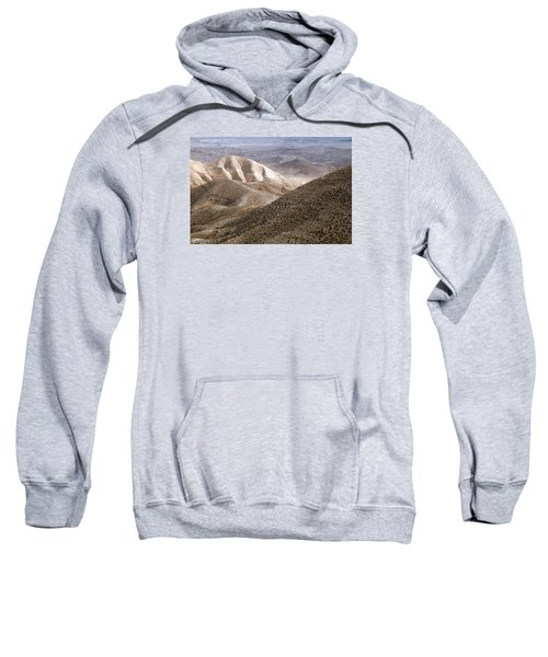 Another View From Masada Sweatshirt by Dubi Roman