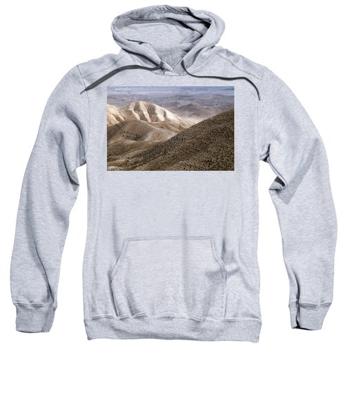 Another View From Masada Sweatshirt