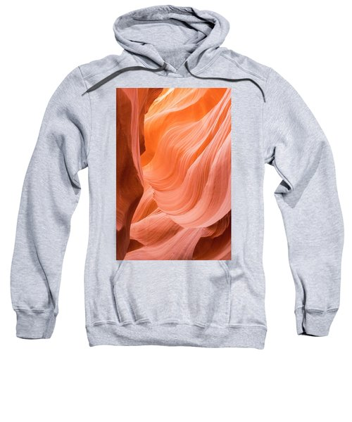 Sweatshirt featuring the photograph Antelope Canyon  by Jeanne May
