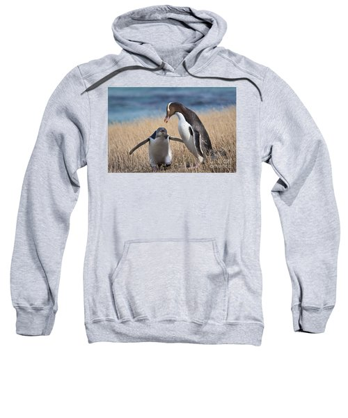 Sweatshirt featuring the photograph Anticipation by Werner Padarin